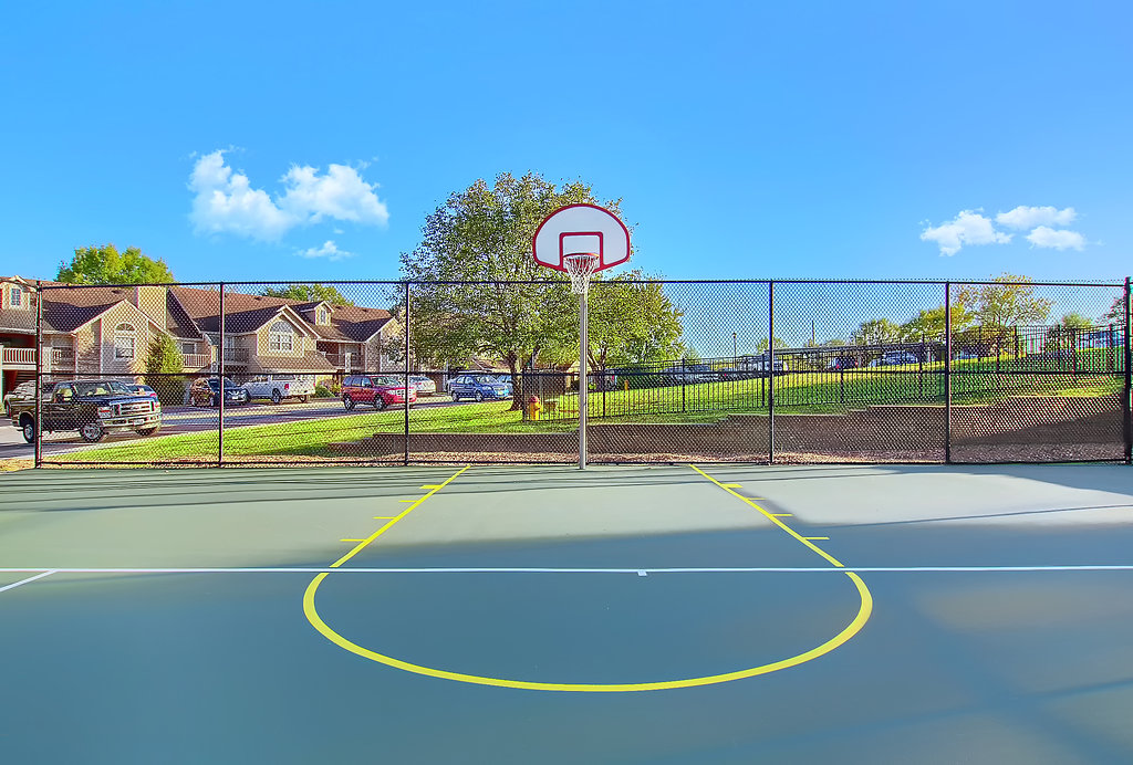 Basketball Court at Patterson Place Apartments in Saint Louis, Missouri