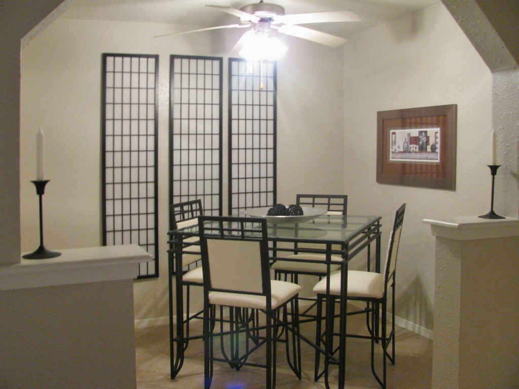 Energy-Efficient Ceiling Fans at The Residences at Mesa Ridge Apartments in Garland, Texas