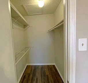 Spacious Walk-In Closets at The Residences at Mesa Ridge Apartments in Garland, Texas