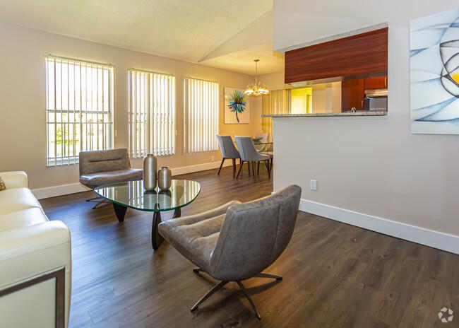 Living Area at Pepper Cove Apartments in Miami, FL