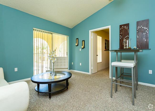 Warm Color Room at Pepper Cove Apartments in Miami, FL
