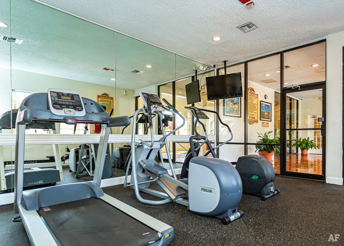 On Demand Fitness Center at Pepper Cove Apartments in Miami, FL