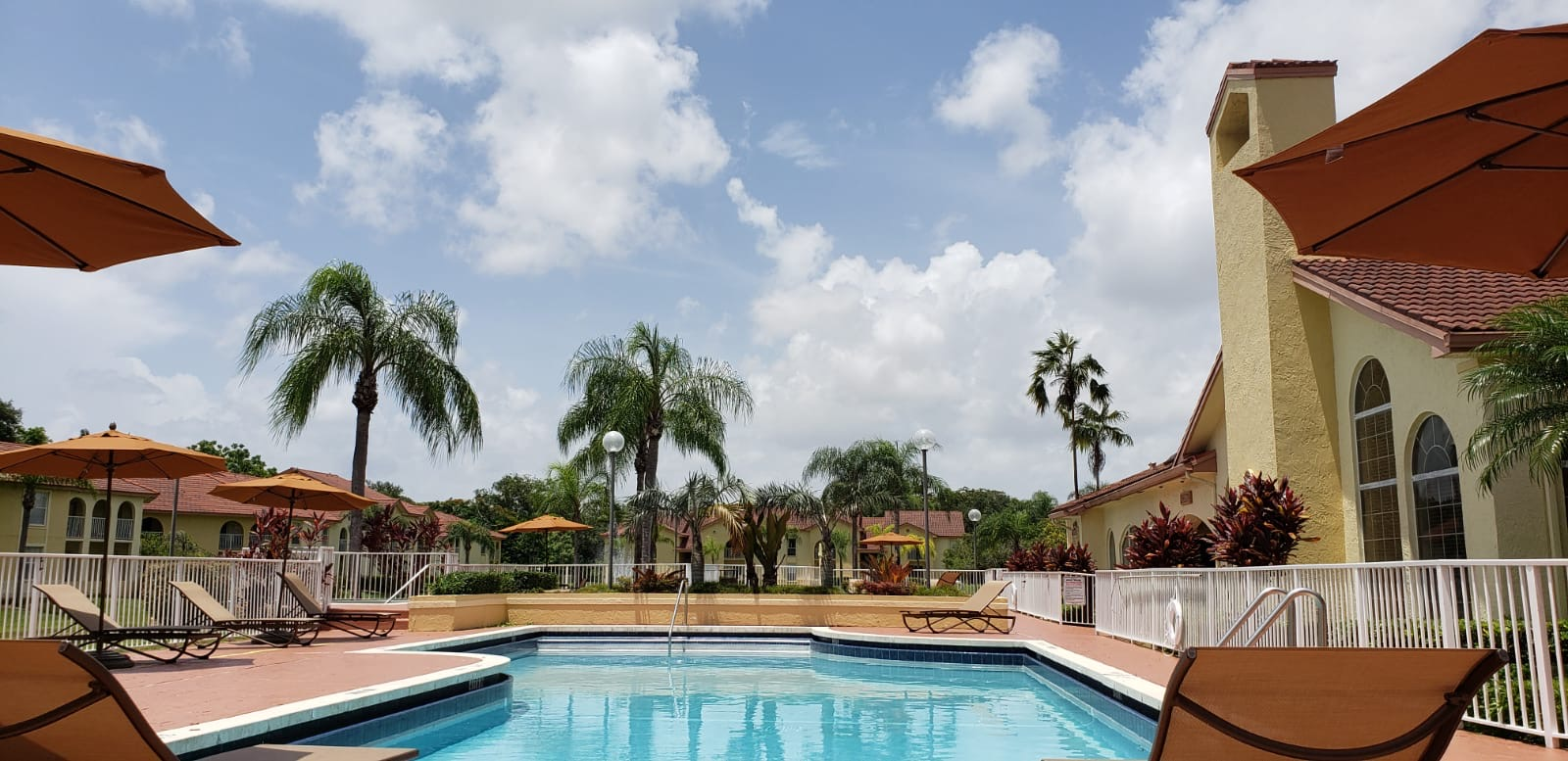 Sparkling Pool at Pepper Cove Apartments in Miami, FL