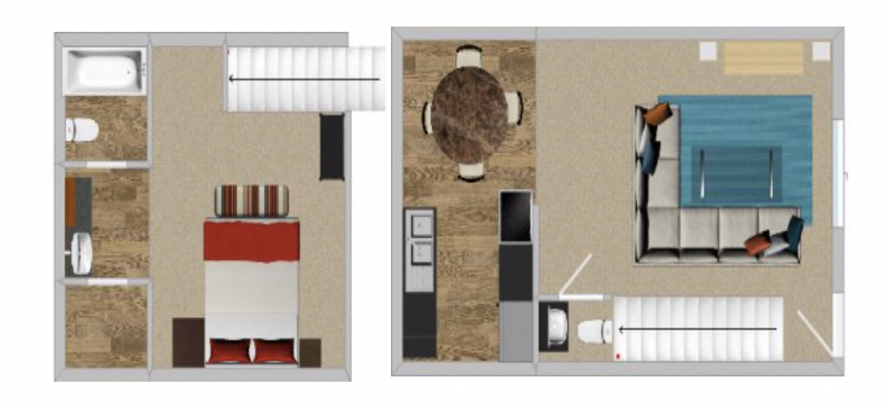 Peppertree Apartment Homes - Floorplan - 1BR 807