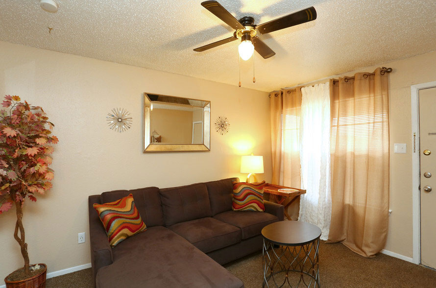 Ceiling Fans at Peppertree Apartments in Odessa, Texas