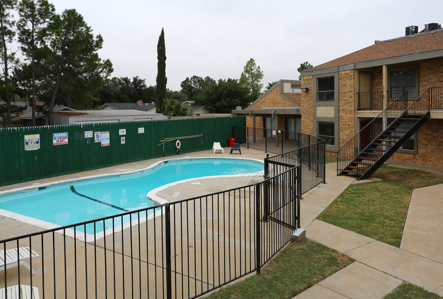 On-Site Pool at Peppertree Apartments in Odessa, Texas