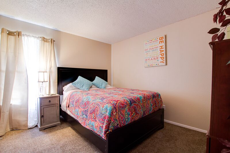 Large Windows at Peppertree Apartments in Odessa, Texas