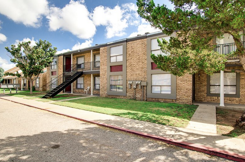 Ample Parking at Peppertree Apartments in Odessa, Texas