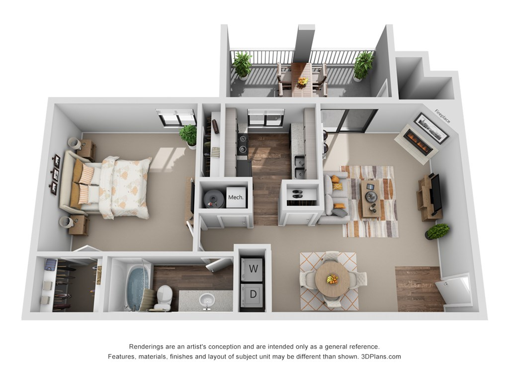 Perry 81 - Floorplan - Sycamore