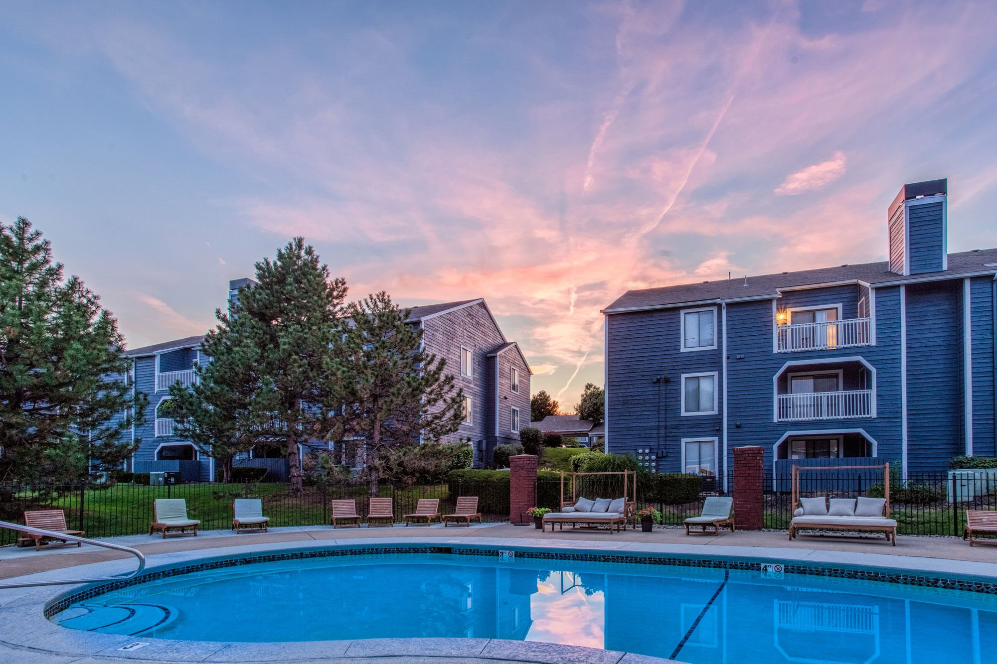 Quiet Community at Perry 81 Apartments in Overland Park, Kansas