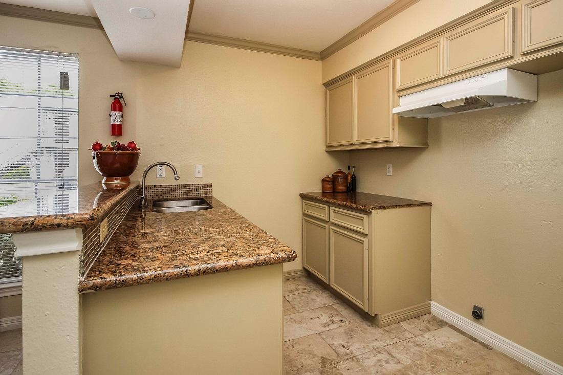 Kitchen Storage at Pine Terrace Apartments in Houston, Texas