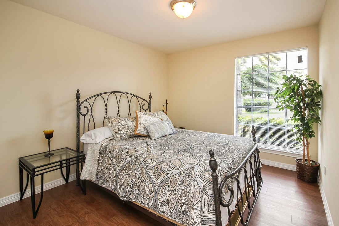 Large Bedrooms at Pine Terrace Apartments in Houston, Texas