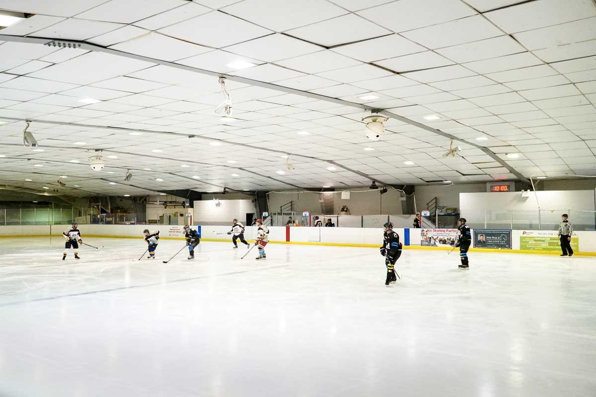 Fairfax Ice Arena is 5 minutes from Pinewood Plaza Apartments in Fairfax, VA