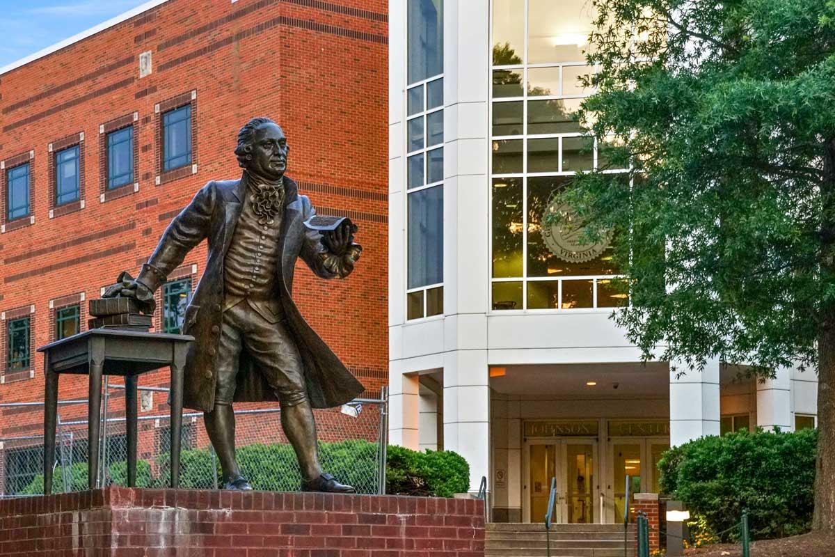 George Mason University is 10 minutes from Pinewood Plaza Apartments in Fairfax, VA