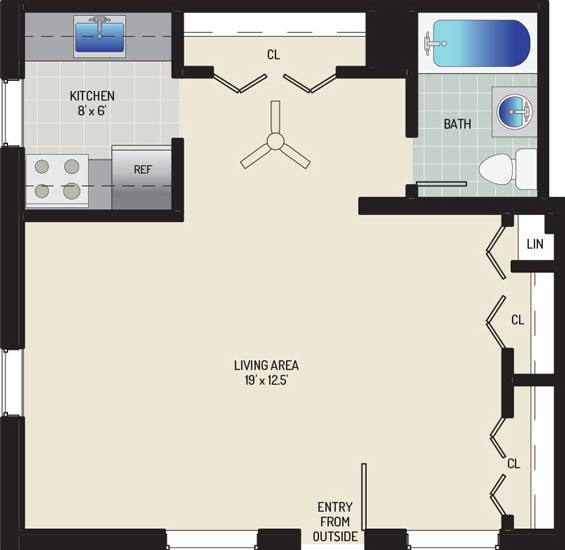 Pinewood Plaza Apartments - Apartment 683900-EFF-B1