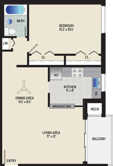 Pinewood Plaza Apartments - Apartment 683943-104-D2