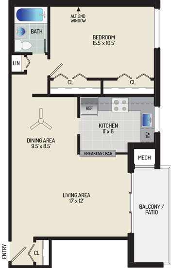Pinewood Plaza Apartments - Apartment 683947-02-E