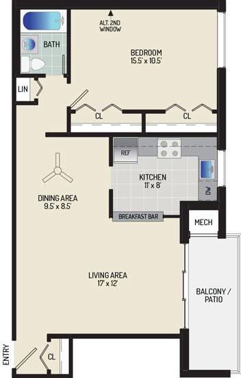 Pinewood Plaza Apartments - Apartment 683953-102-E