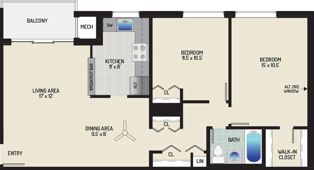 Pinewood Plaza Apartments - Apartment 683906-201-I1