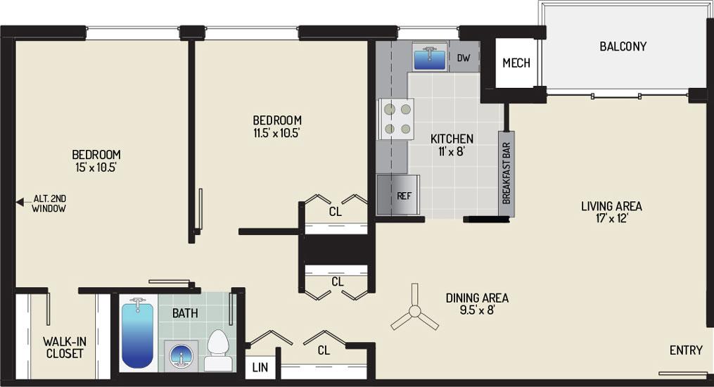 Pinewood Plaza Apartments - Apartment 683945-104-I2