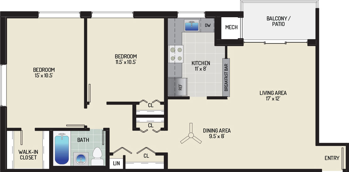 Pinewood Plaza Apartments - Apartment 683906-02-J1