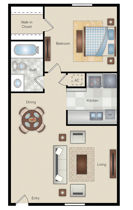 The Point on Redmond - Floorplan - B