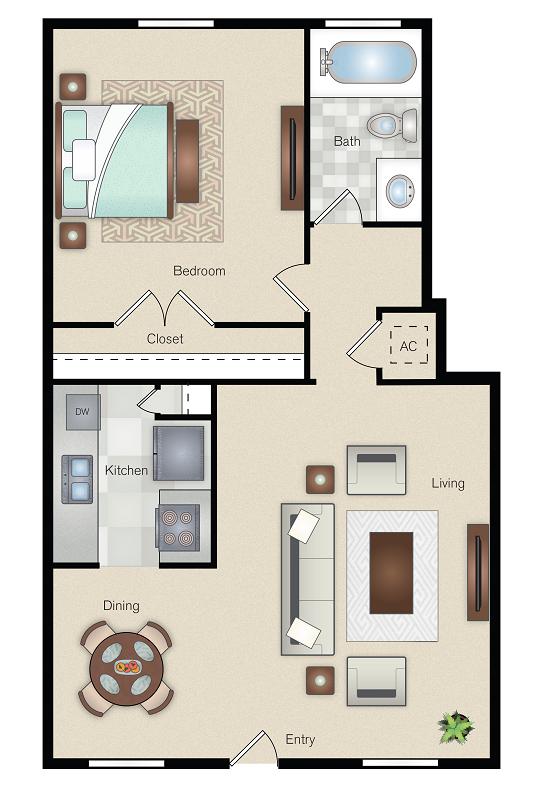 The Point on Redmond - Floorplan - C