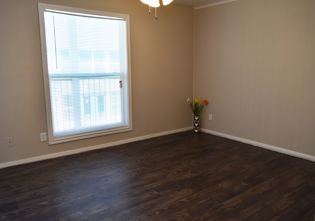 Faux Wood Flooring at The Point on Redmond Apartments in College Station, TX