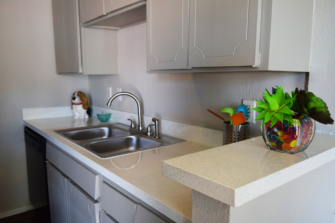 Fully Equipped Kitchens at The Point on Redmond Apartments in College Station, TX