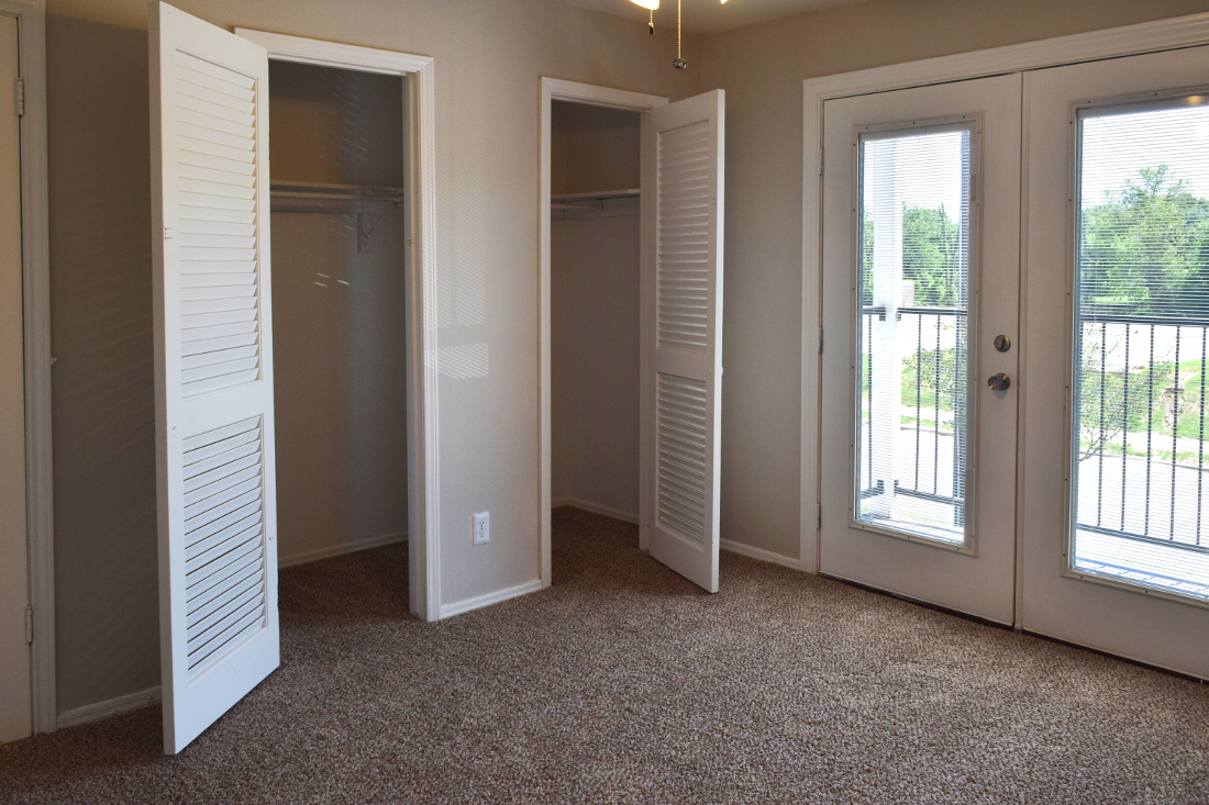Closet Space at The Point on Redmond Apartments in College Station, TX