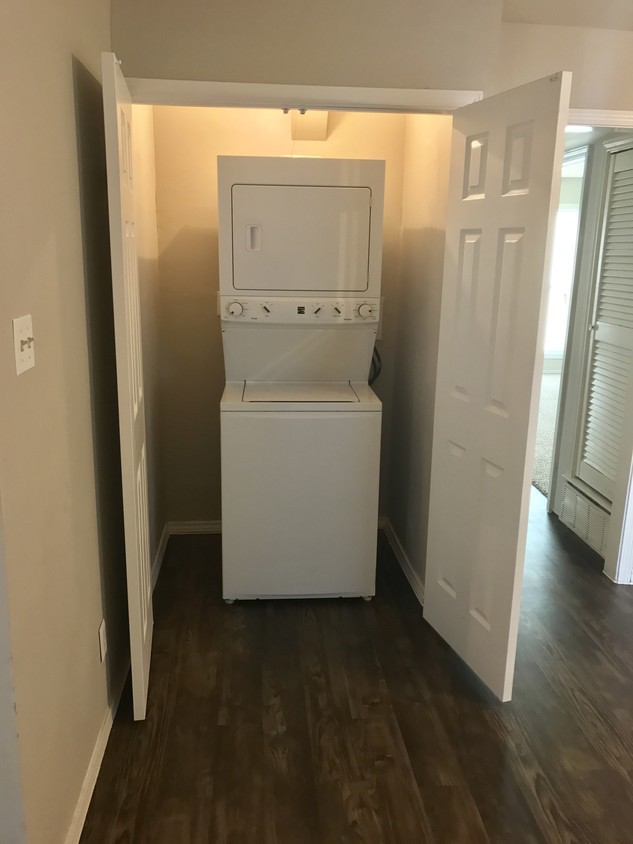 In-Unit Washer and Dryer at The Point on Redmond Apartments in College Station, TX
