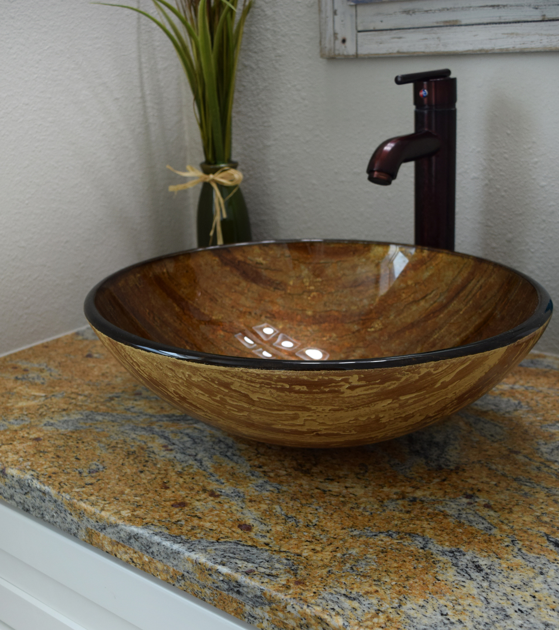 Vessel Sink at The Point on Redmond Apartments in College Station, TX