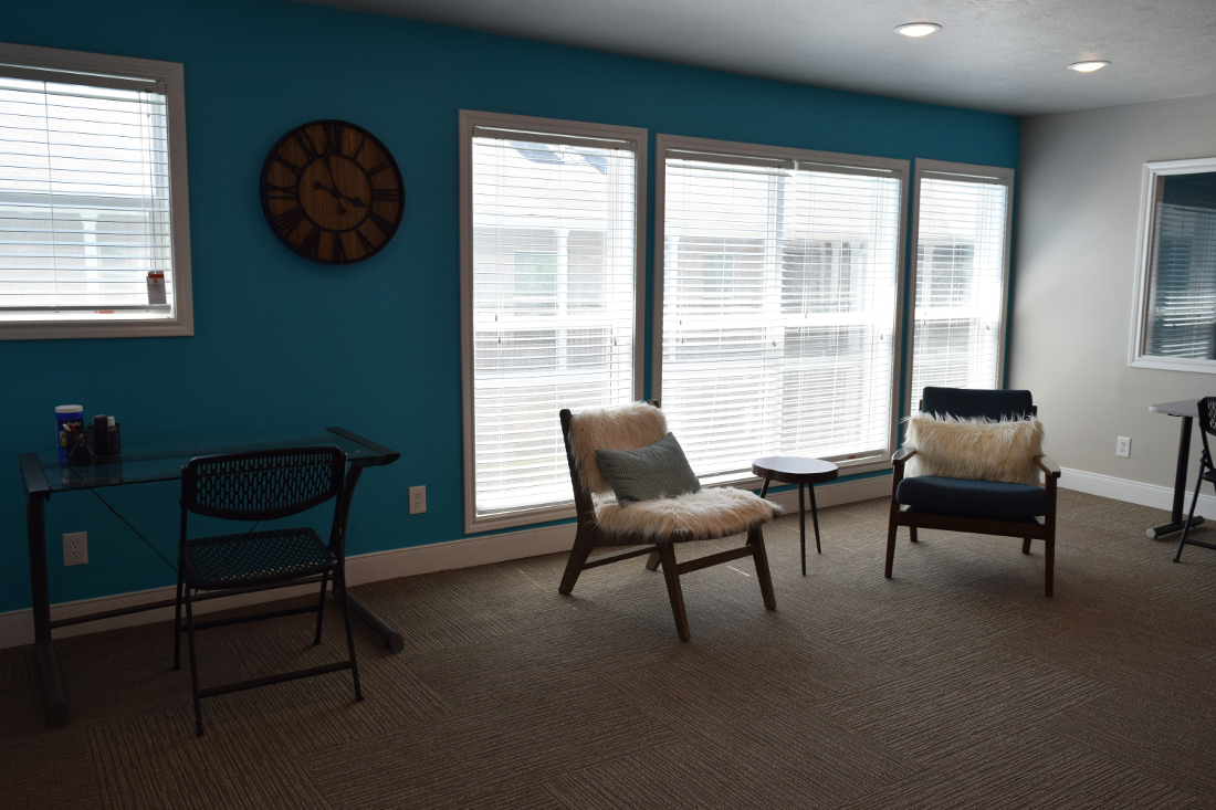 Resident Common Area at The Point on Redmond Apartments in College Station, TX