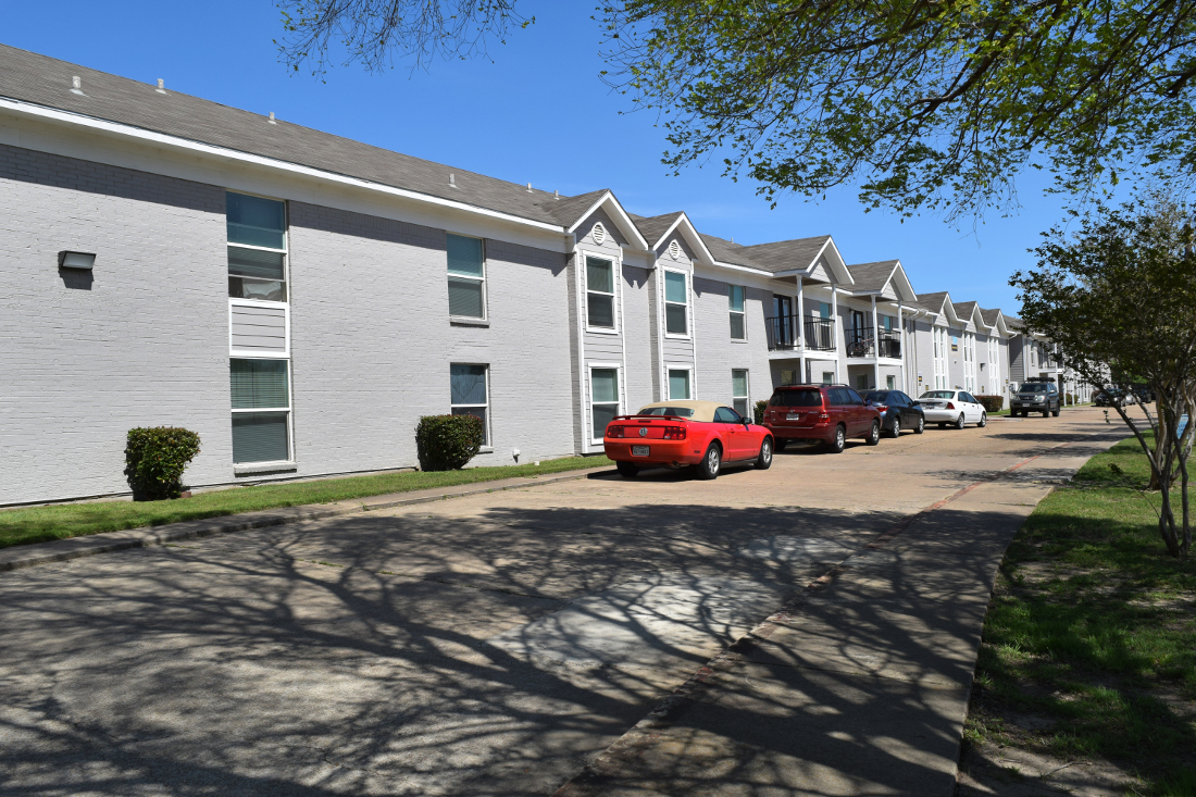 Ample Parking at The Point on Redmond Apartments in College Station, TX