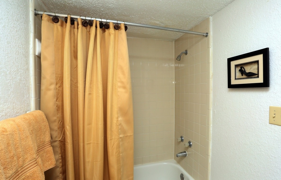 Bathroom Interior at the Polo Club Apartments in Tulsa, OK
