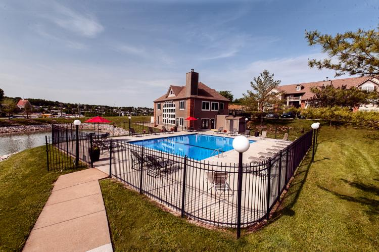 Sparkling Pool at the Polo Downs Apartments in Fenton, MO