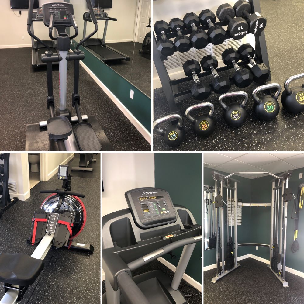 On Demand Fitness Center at Polo Downs Apartments in Fenton, MO