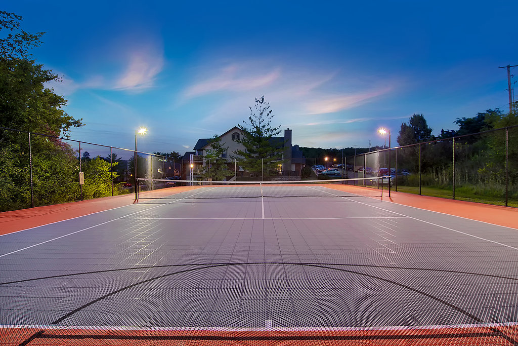 Lighted Sport Court