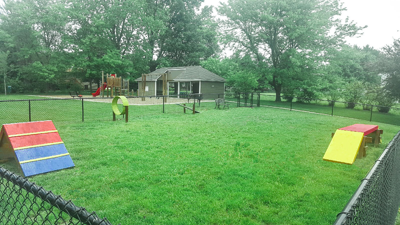 Doggy Bark Park at Prairie West Apartments in Ames, IA