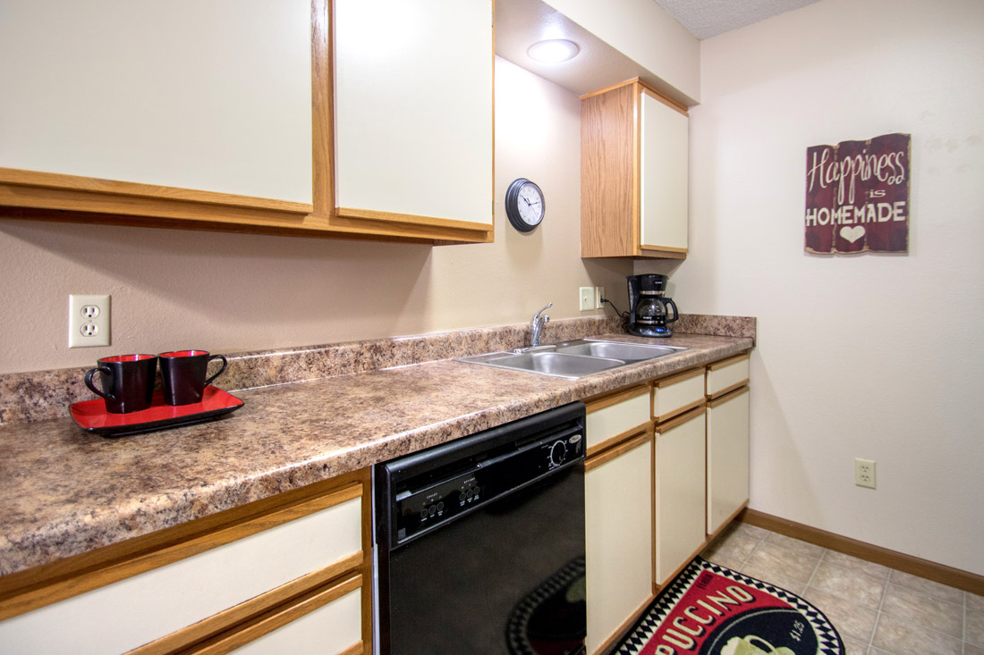 Apartments with Dishwasher at Prairie West Apartments in Ames, IA