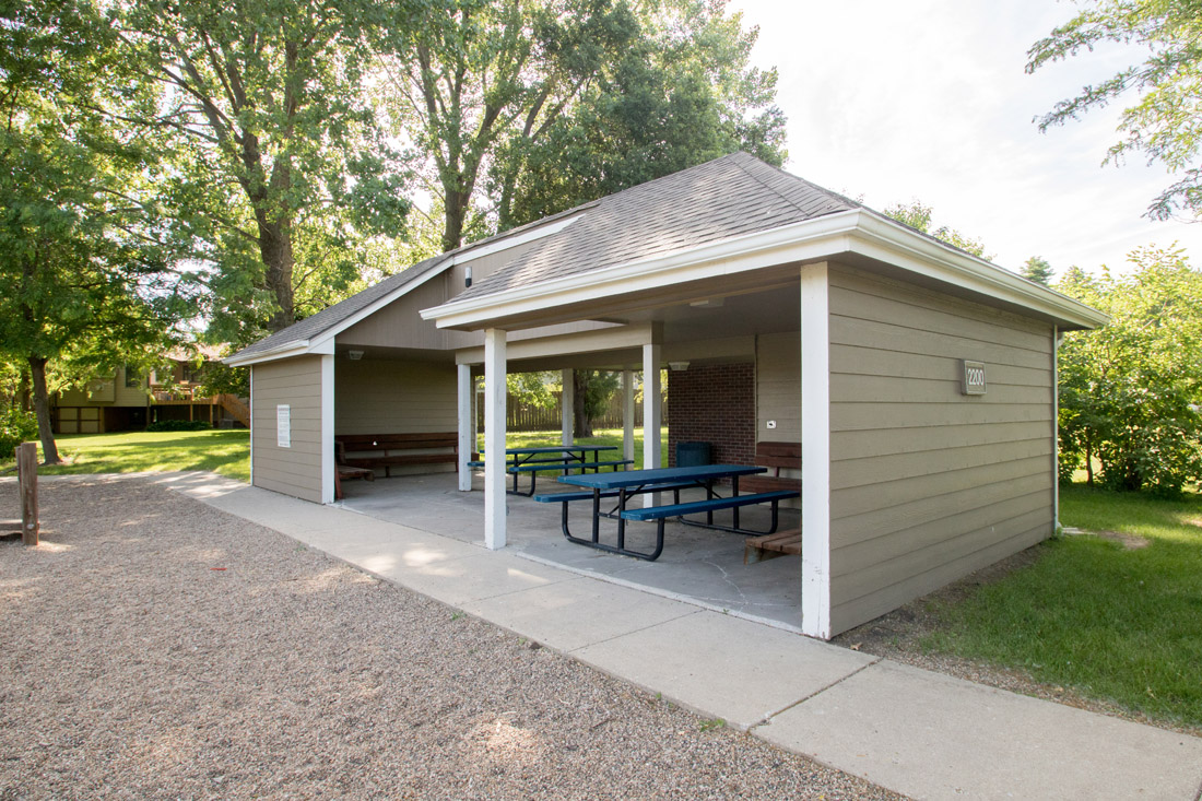 Picnic Pavilions at Prairie West Apartments in Ames, IA