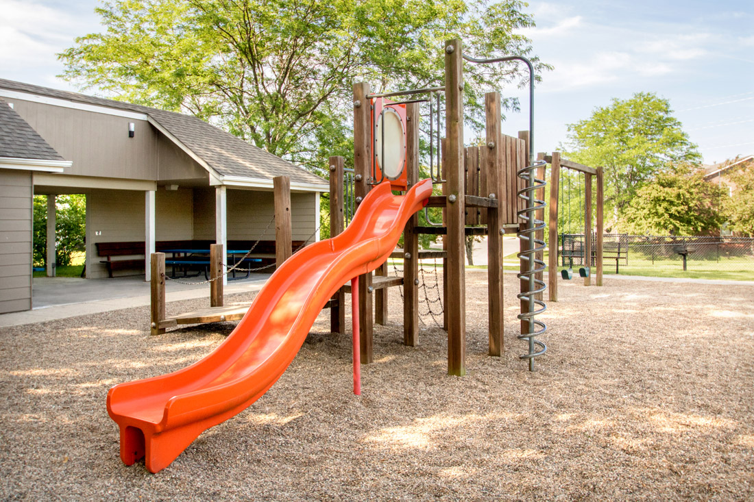 Children's Playground at Prairie West Apartments in Ames, IA