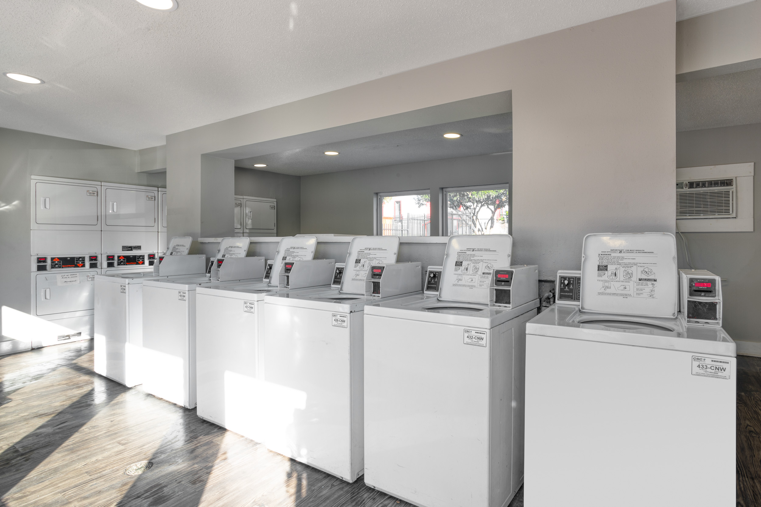 Laundry Facility at Presidio Flats Apartments in San Antonio, Texas