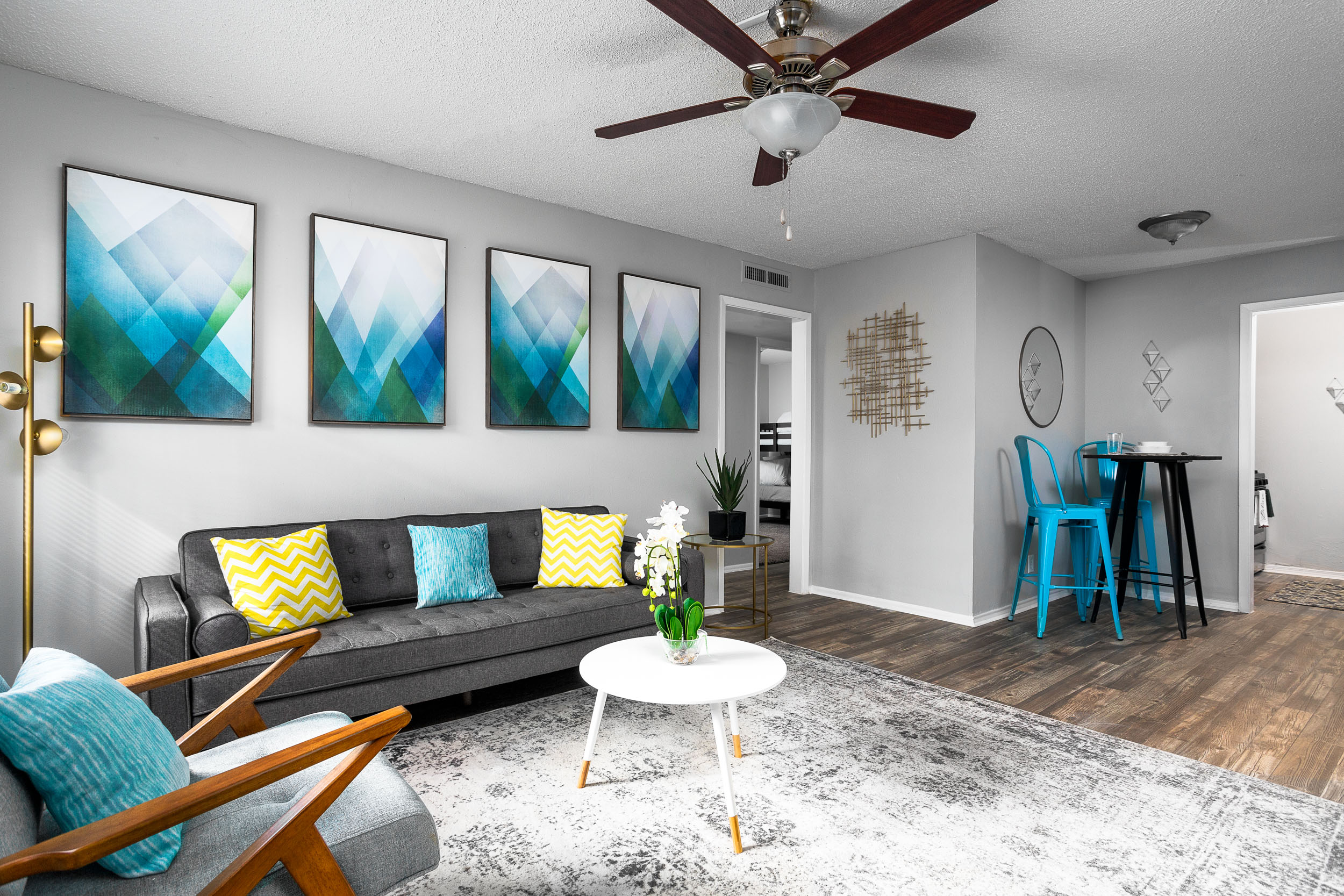 Open Floor Plans at Presidio Flats Apartments in San Antonio, Texas
