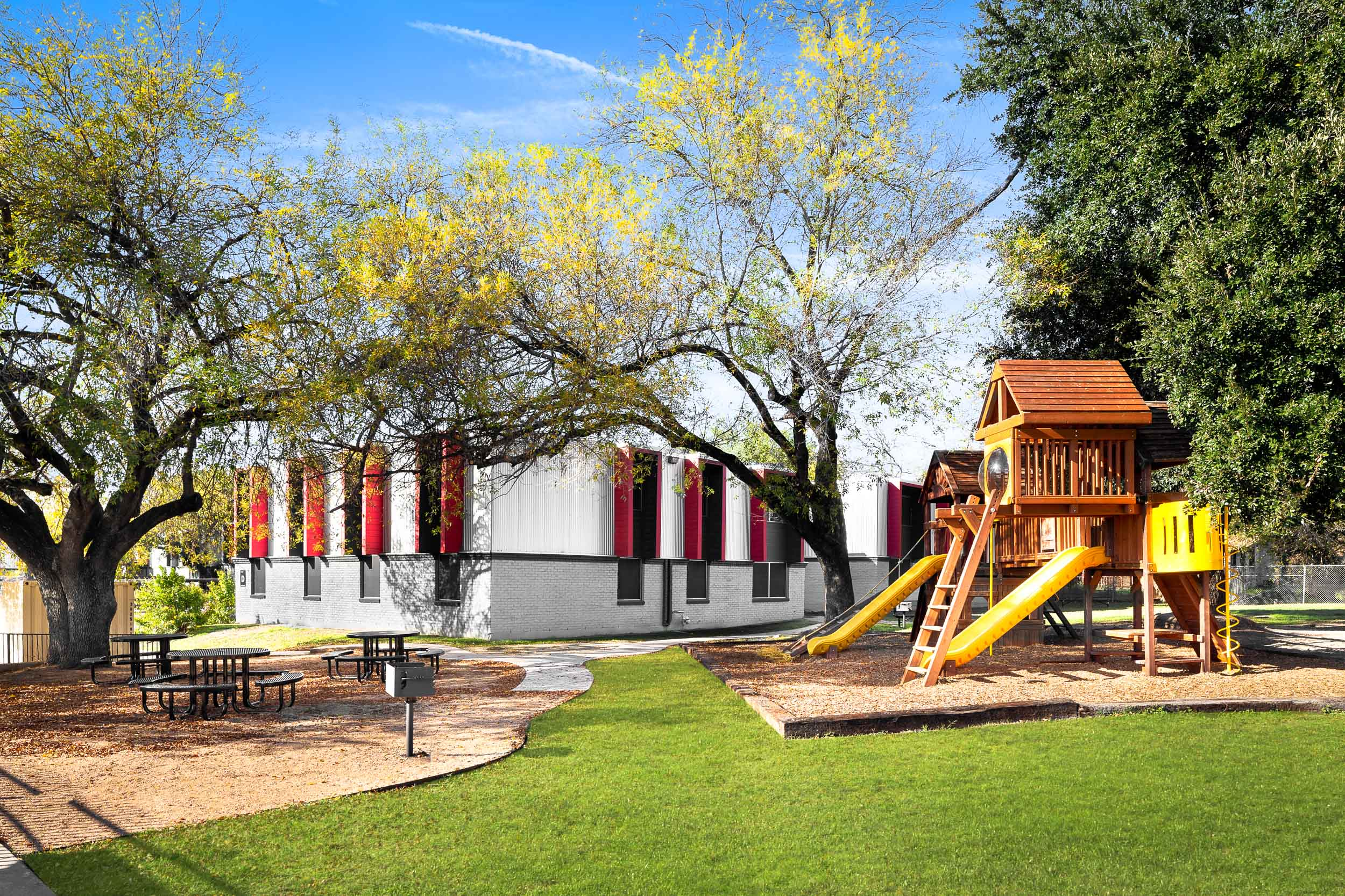 The Playground at Presidio Flats Apartments in San Antonio, Texas