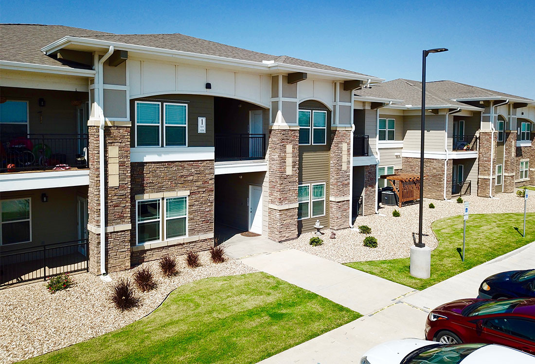 Private Patio or Balcony at The Reserves at Preston Trails Apartments in Wolfforth, TX
