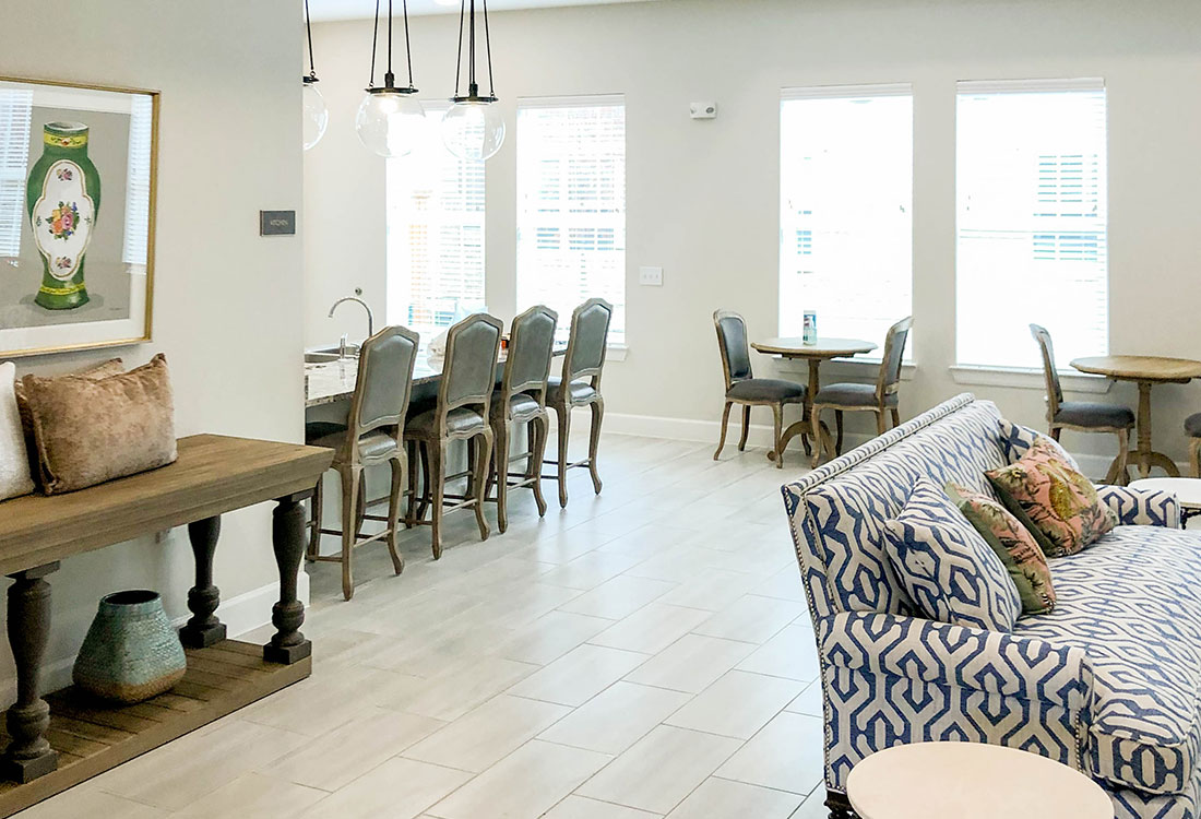 Clubhouse at Provision at North Valentine Apartments in Hurst, Texas