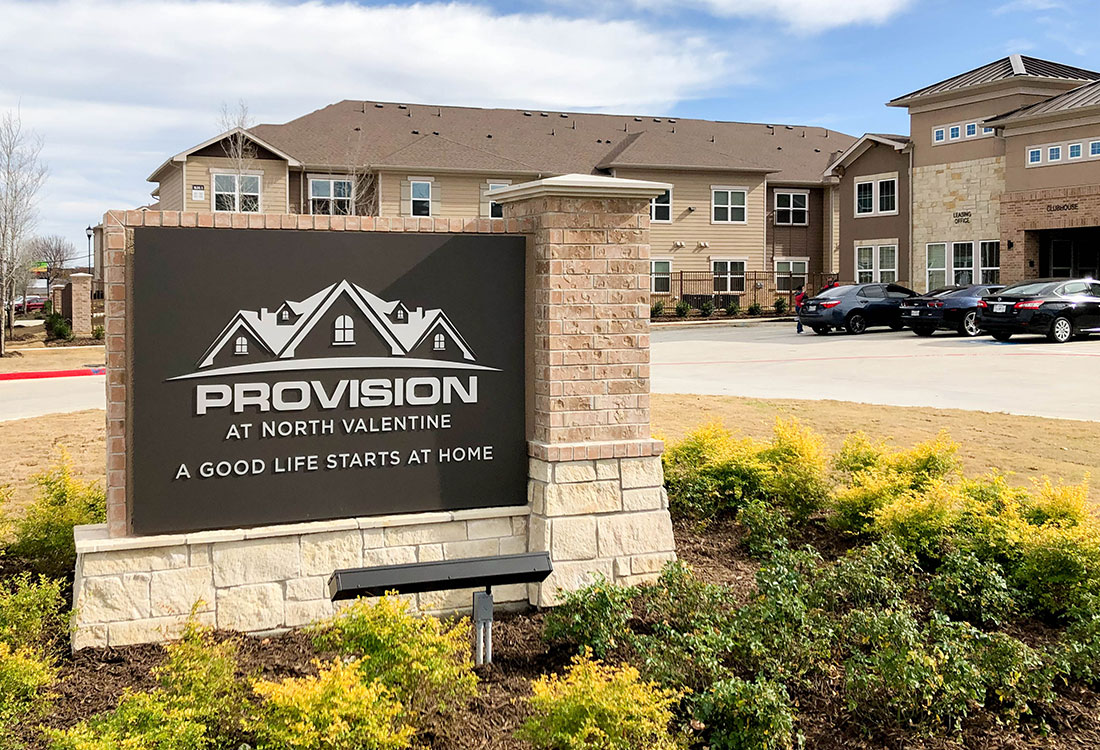 Two Bedroom Apartments for Rent at Provision at North Valentine Apartments in Hurst, Texas