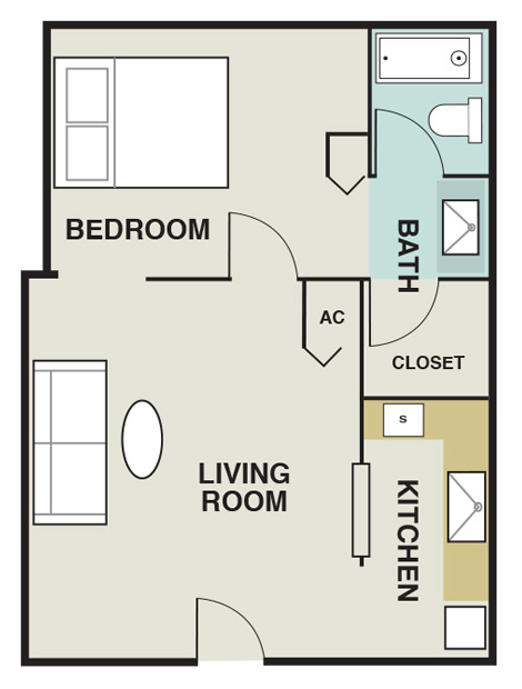 Joule Apartment Homes - Floorplan - A1