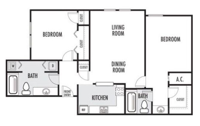 Joule Apartment Homes - Floorplan - B1